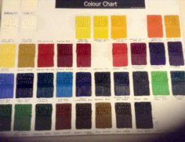 Calder Paint Colours